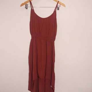 COTTON ON HIGH LOW/ LONG BACK DRESS