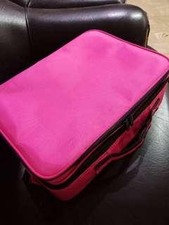 pre loved pink make up bag