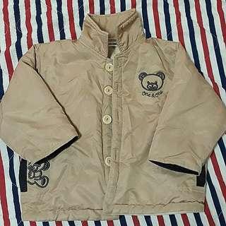 二手秋冬款🌺幼童防風保暖外套/風衣🎑保存不錯 約3-4歲穿