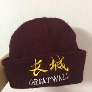 Great wall Beanie
