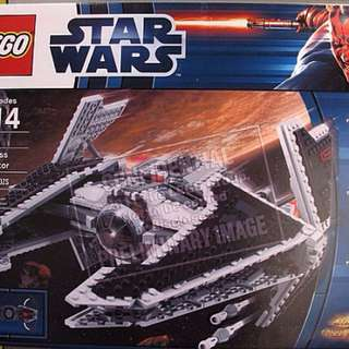 Lego Star Wars Sith ship