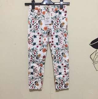 Flowers Pants Zara Girls