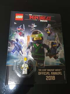 Lego ninjago movie official annual 2018