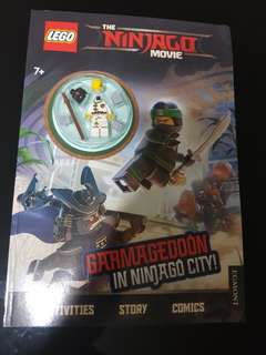 Lego ninjago movie book garmageddon in ninjago city