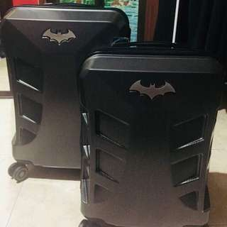 WB Batman Superlight Hardcase Luggage 24""