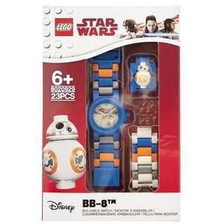 Lego樂高星球大戰STAR WAR系列BB-8手錶(聖誕禮物之選)(專門店賣$270)