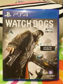 PS4 遊戲 看門狗 WATCH DOGS~9成9新~