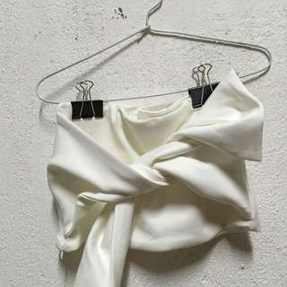 Bow crop top