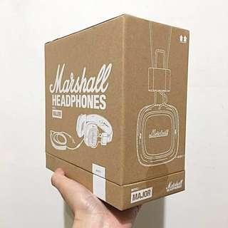 🚚 Marshall Major I 耳機 耳罩式耳機 ROCK & ROLL 音箱 沛聲 聖誕 交換禮物 男友生日禮物