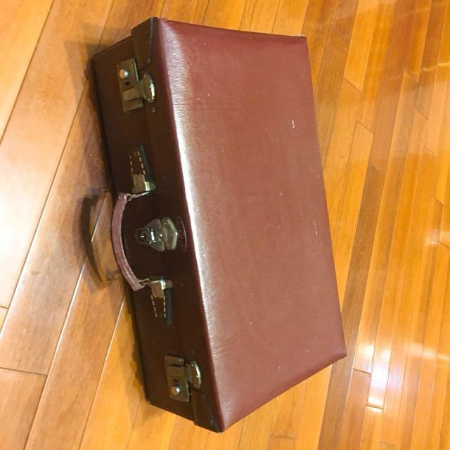 復古旅行箱。40年歷史