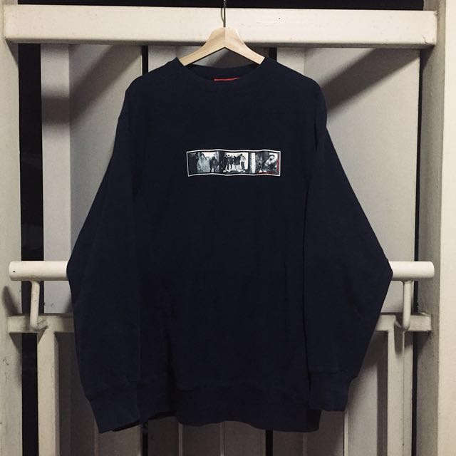 90s Supreme Safety Film Crewneck Sz L