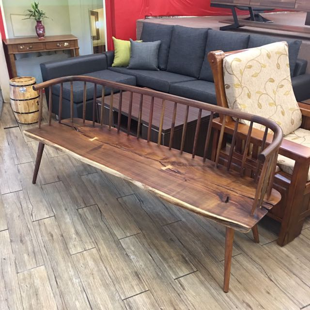 北美胡桃圍椅