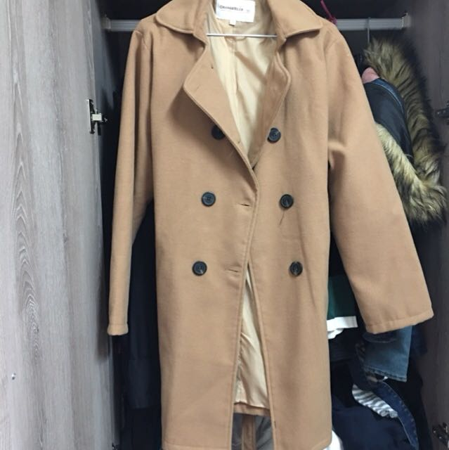 卡其大衣外套