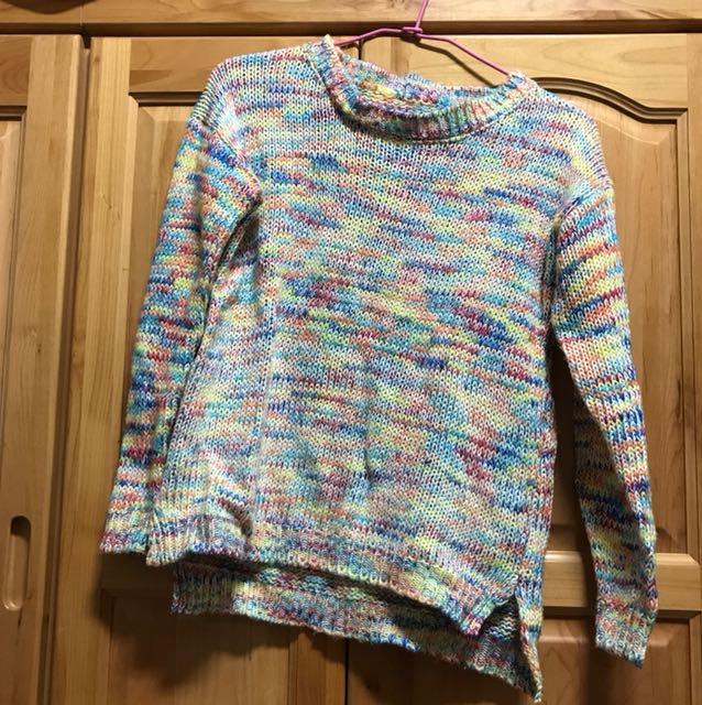 超夯單品 彩色針織毛衣