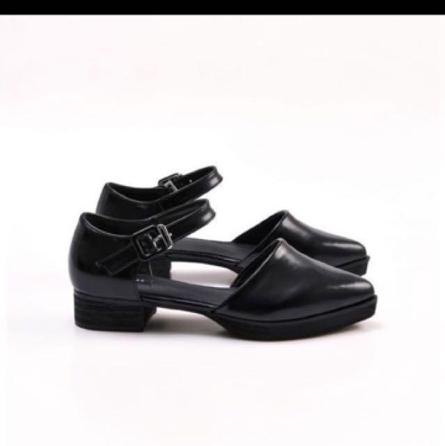 尖頭 平底鞋