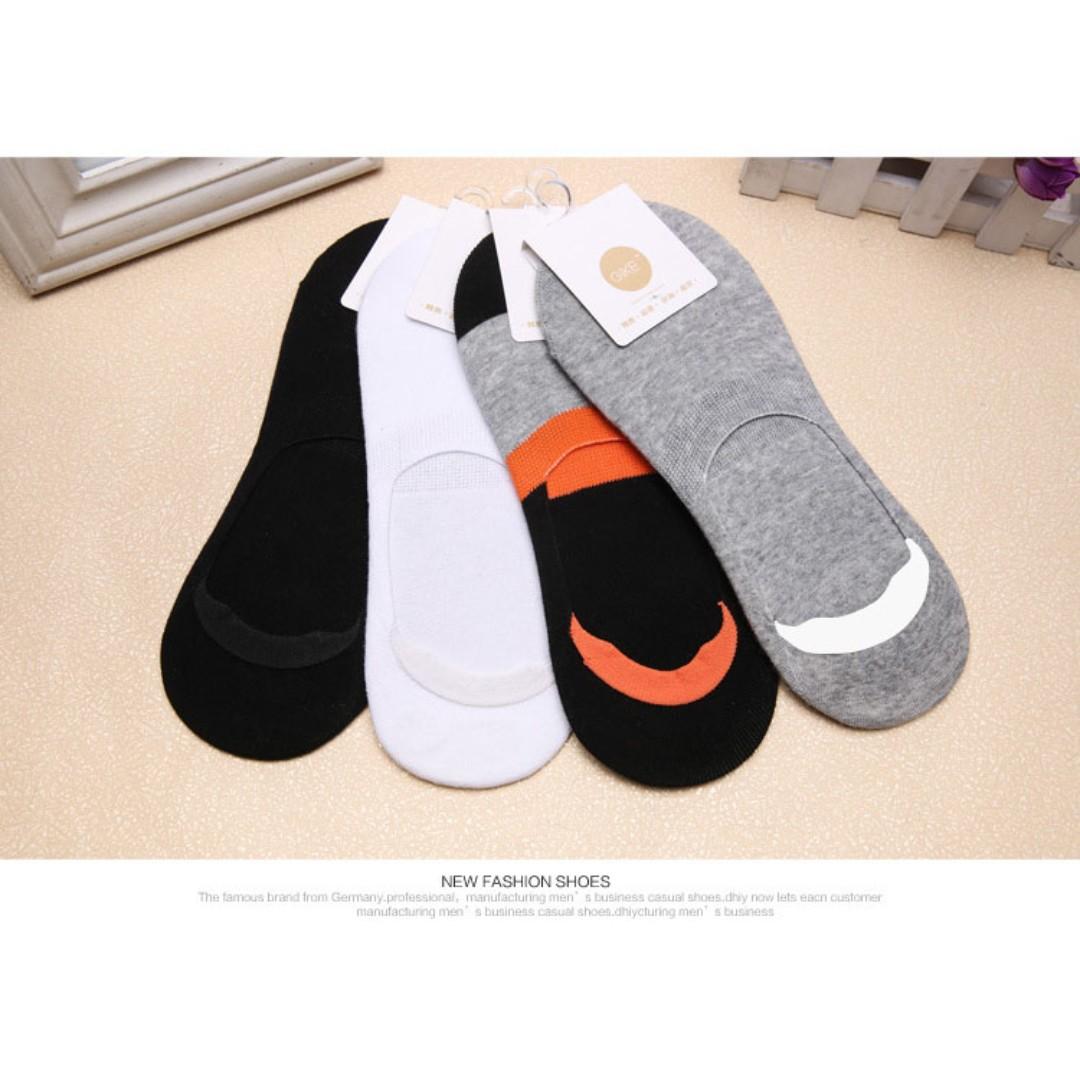 純棉透氣隱形襪 懶人鞋適用 船型襪 防臭殺菌 隱形短襪【A063】