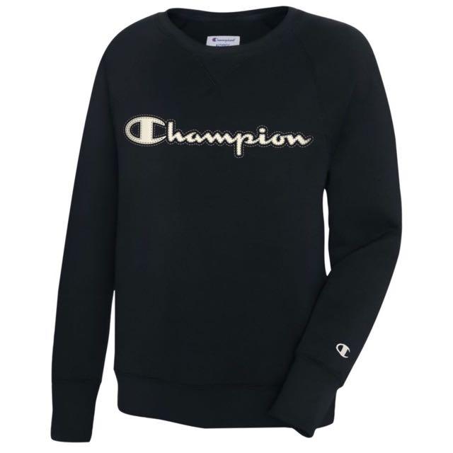 💡💡秋冬超好搭配的 Champion 黑色衛衣💡💡