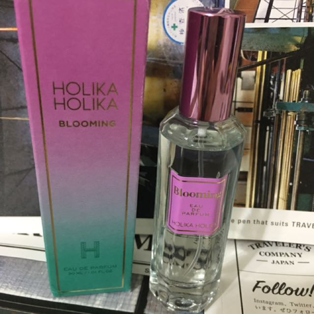 二手 HOLIKA HOLIKA blooming 2017年新品淡香水 30ml