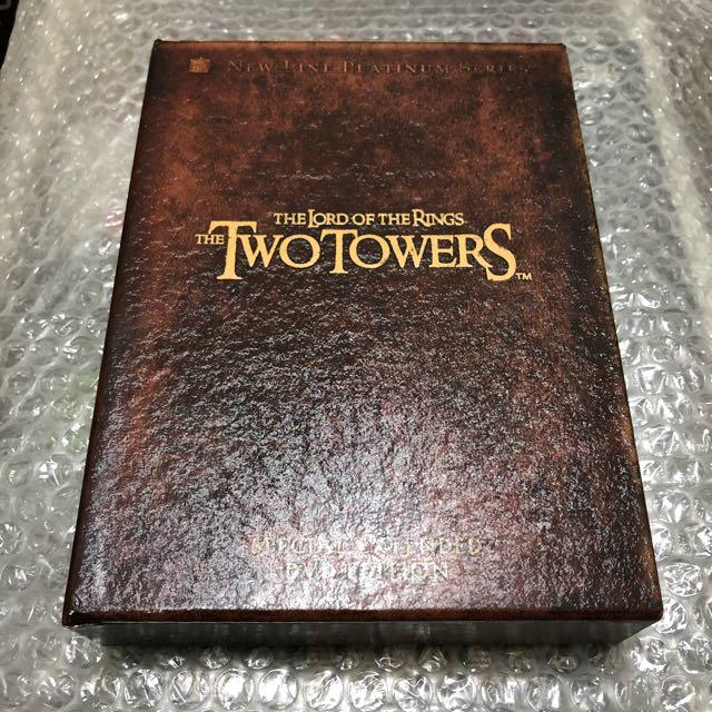 魔戒 雙城奇謀Lord Of Rings Two Towns 4DVD中文字幕臺灣發行特別版