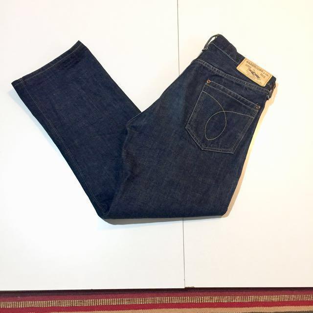日本製 warehouse 重磅 原色褲 養褲 赤耳 日本牛 牛仔褲 單寧 寬褲 騎士 非 RRL LVC LEVIS