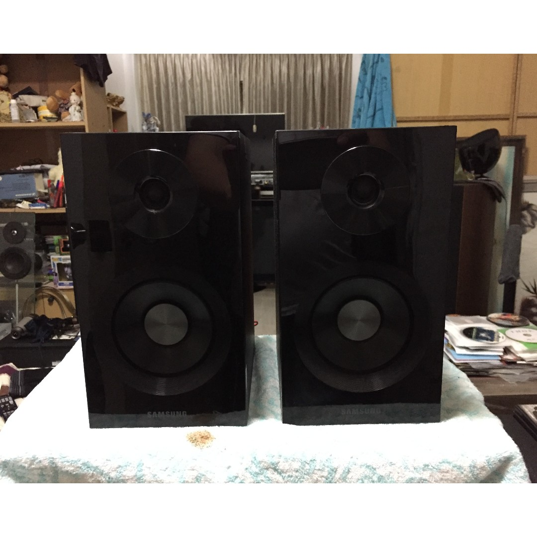A Pair Of Samsung D430D Bookshelf Speakers Electronics Audio On Carousell