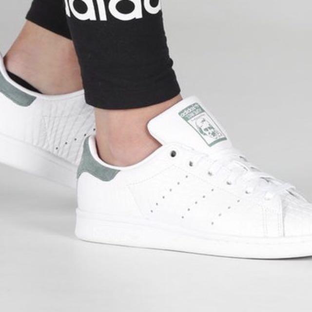Gli originali delle donne bianche adidas stan smith / oliva noi 8 donne