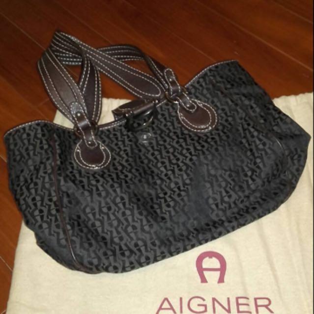 AIGNER肩背包