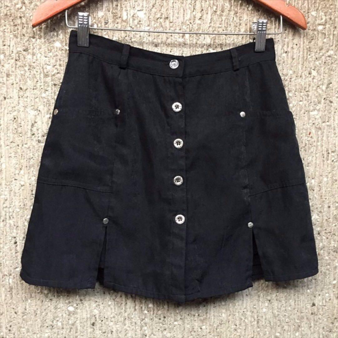 A-line / Button Down Skirt