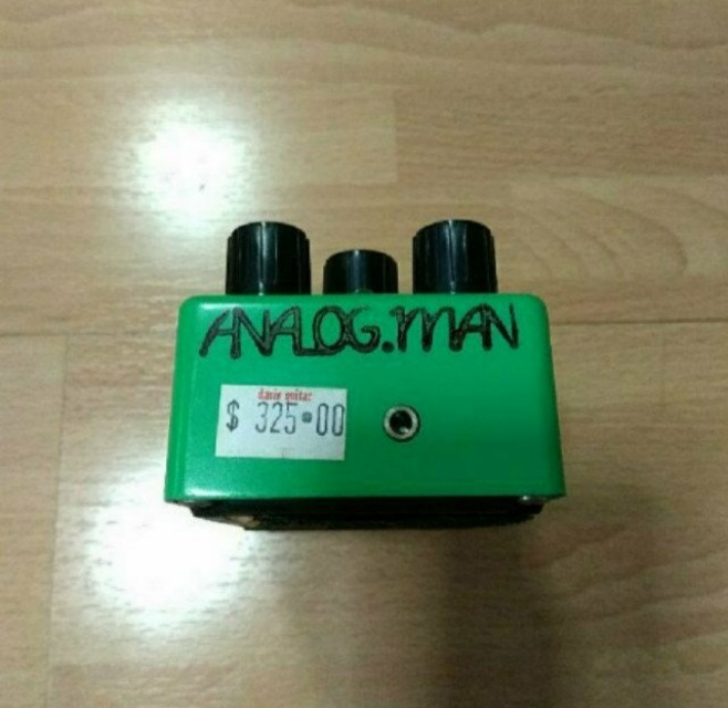 Analogman Silver Mod Ibanez TS-808 Tube Screamer Reissue