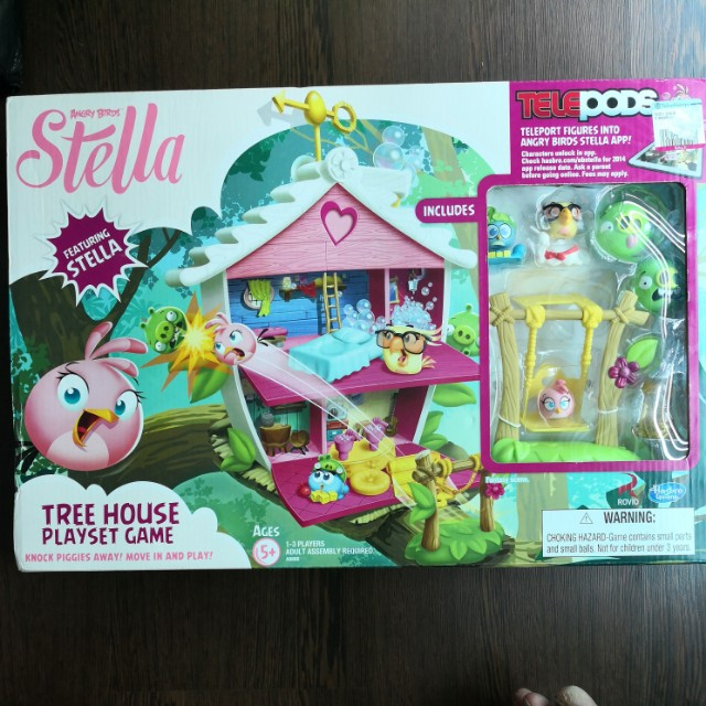 Angry Birds Stella tree house player game