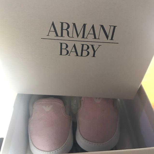 Armani junior女童鞋
