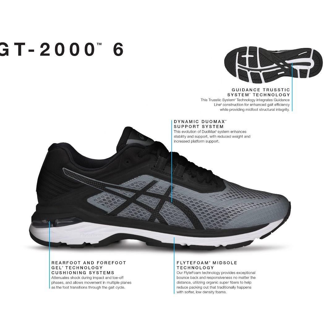 361872eeba Asics Gel GT 2000 6 Men s Running T805N-1190