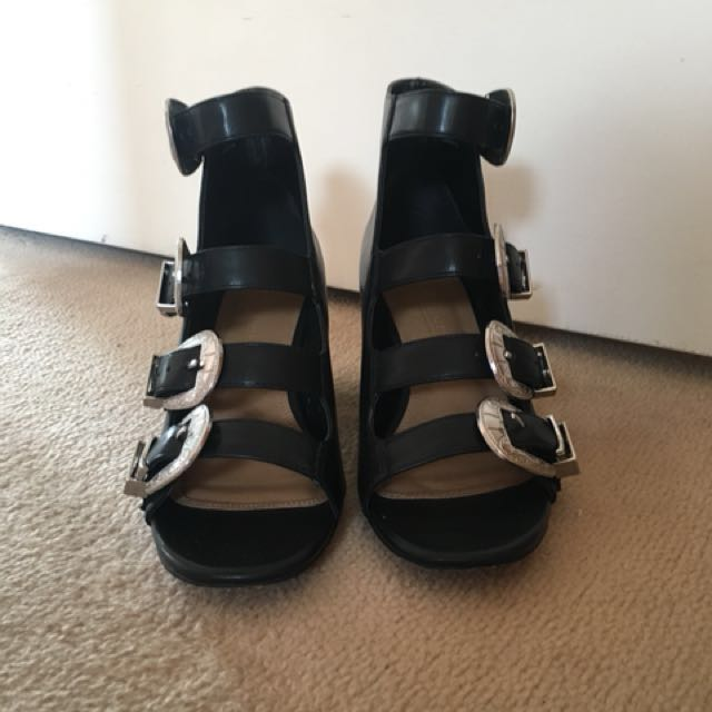 ASOS Western style buckle sandals