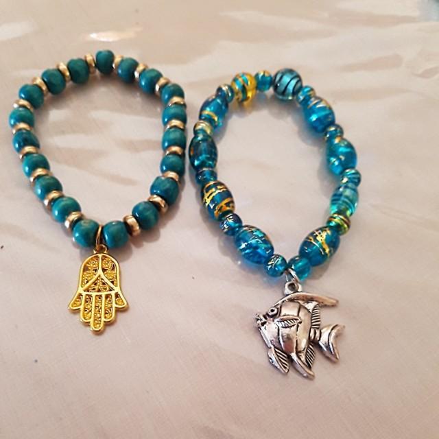 Assorted bracelets  $5 each