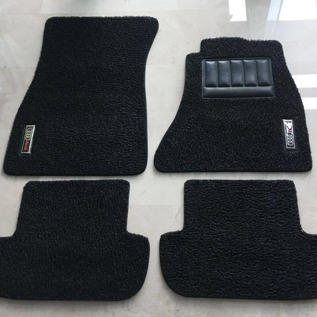 Audi A B M Car Mats Car Accessories On Carousell - Audi car mats