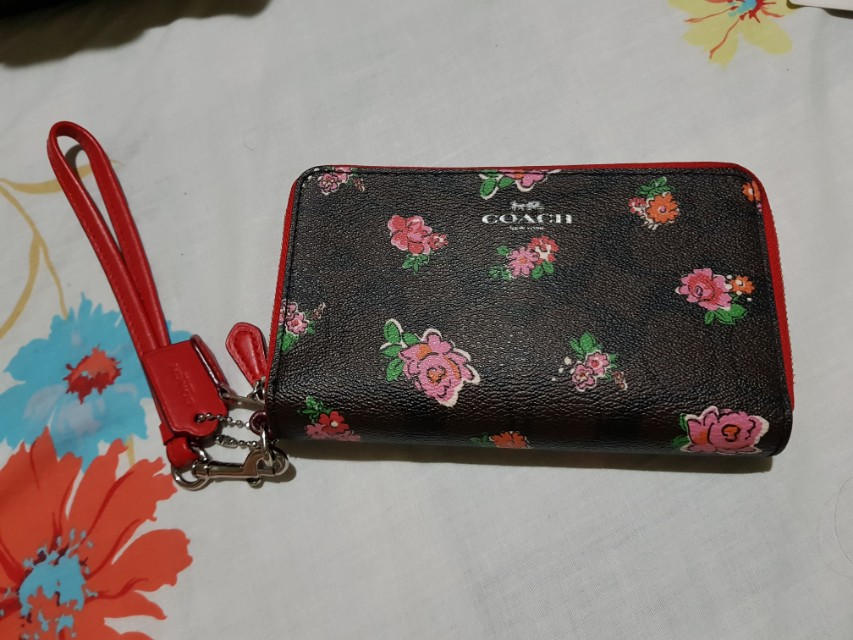 Authentic Coach Floral Wallet