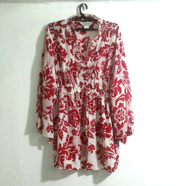 Authentic Floral Flare Dress