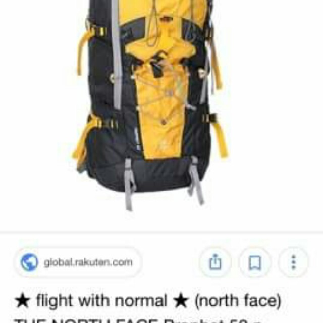 Authentic North Face Back Pack