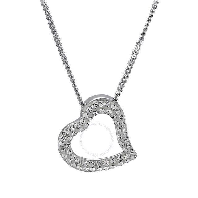Authentic Swarovski mozart heart pendant