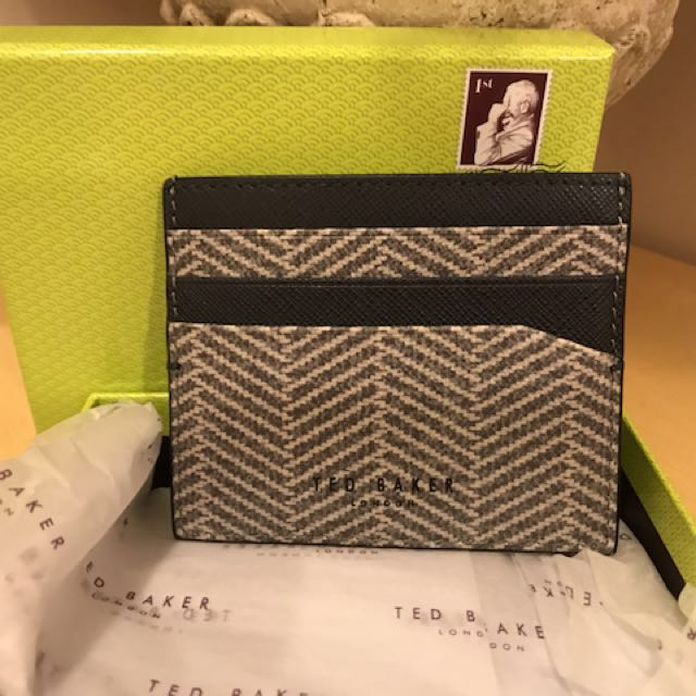 Authentic Ted Baker Men's Card Wallet
