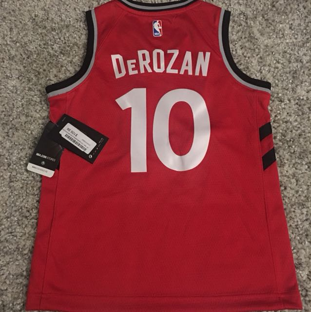 Authentic Youth DeRozan jersey with tags - small