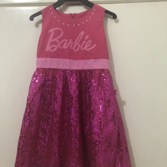 Barbie Pink Party Dress