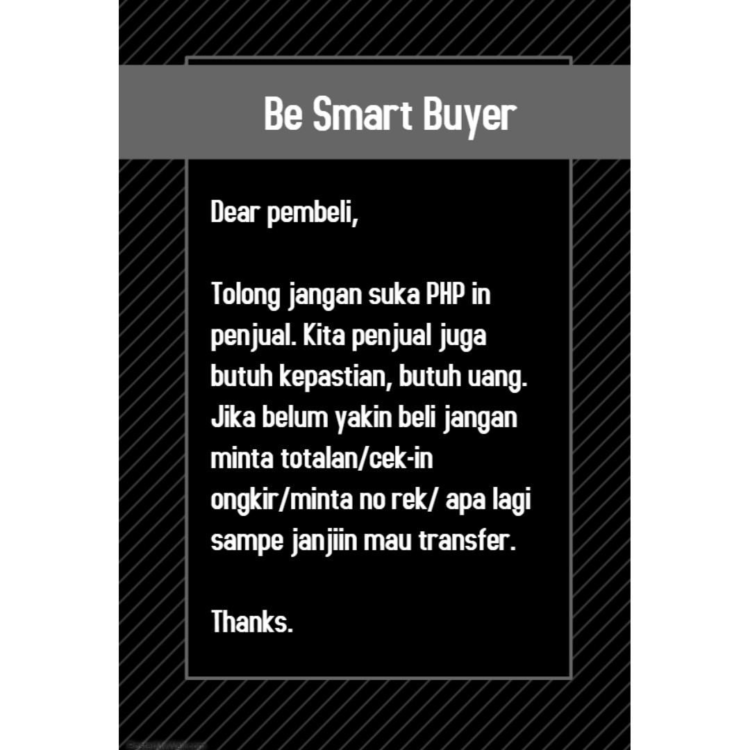 Be Smart Buyer