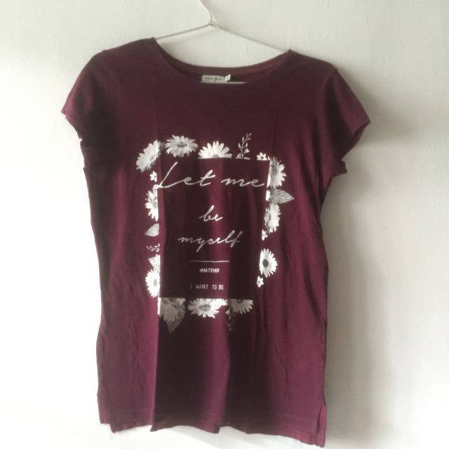 Bershka kaos tshirt
