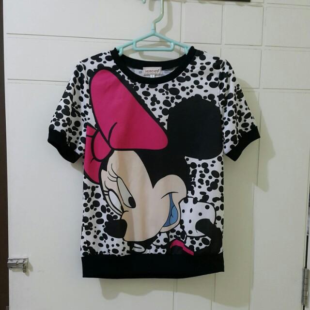 Black and White Polkadot Minnie