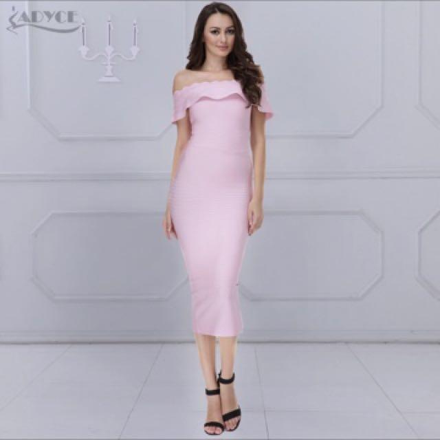 195cfd31bd1c Blush Pink bodycon dress