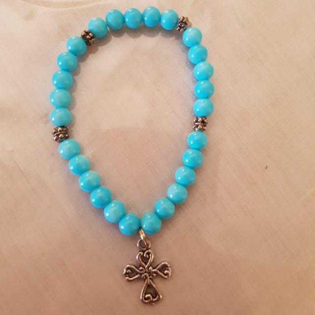 Bracelet with cross charm