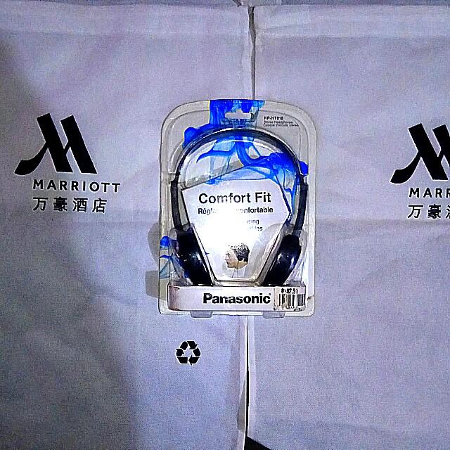 Brand new Panasonic stereo headphones