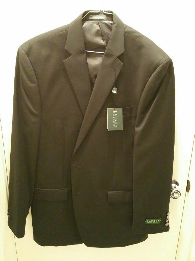 Brand New Ralph Lauren Black Jacket