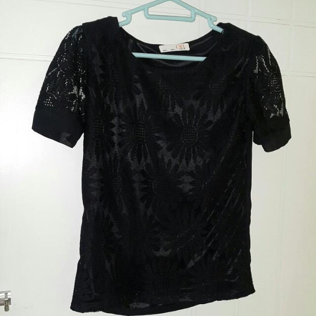 Brokat Black